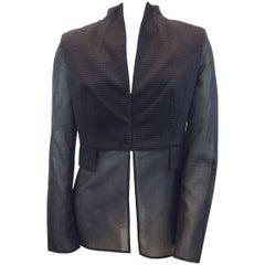 Akris Black Jacket NWT