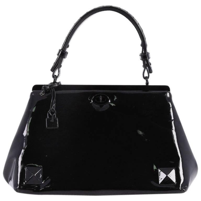 Bottega Veneta Frame Top Handle Bag Patent