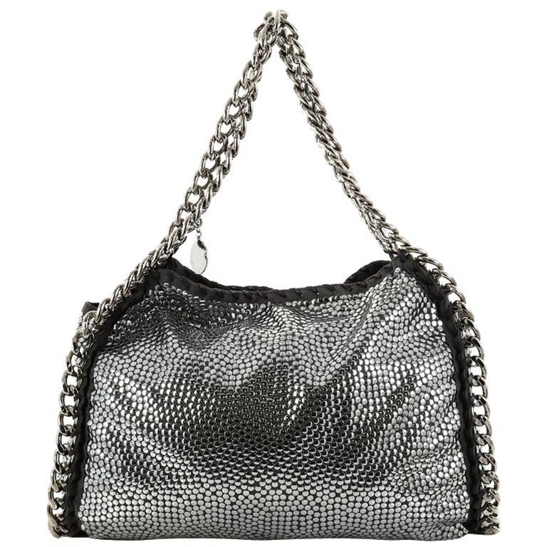 Stella McCartney Falabella Tote Studded Faux Suede Large