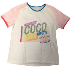 Chanel Coco Cuba T Shirt size M new Never Used with Tags