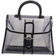 Delvaux Plexi Le brillant  Xray Bag