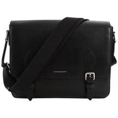Burberry Hendley Messenger Bag Leather Medium