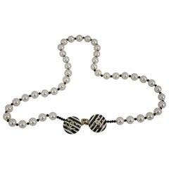 Chanel Saint tropez Coollection Pearl Bag Charm Necklace