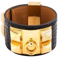 Hermes Cuff Bracelet in Gold