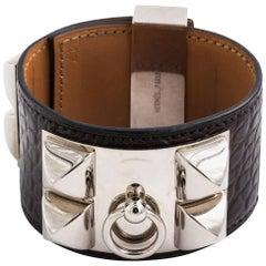 Hermes Cuff Bracelet in Silver