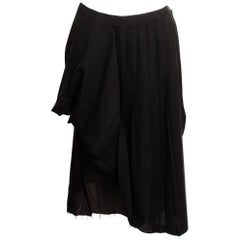 Martin Margiela Pleated Deconstructed Skirt