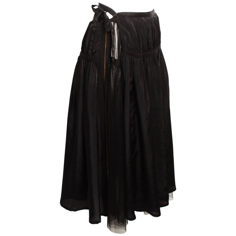 Tricot By Comme Des Garcons Tulle Wrap Skirt For Sale