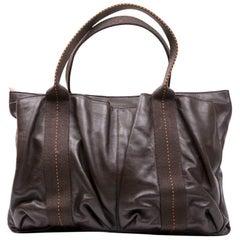 Hermes Soft Brown Leather Bag