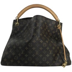 Louis Vuitton Monogram Artsy MM Hobo Hand Bag