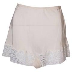 Ivory Silk Pants
