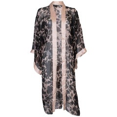 Christina Strambolia Silk Dressing Gown