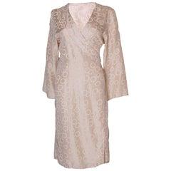 Vintage Silk Kimono Style Dress