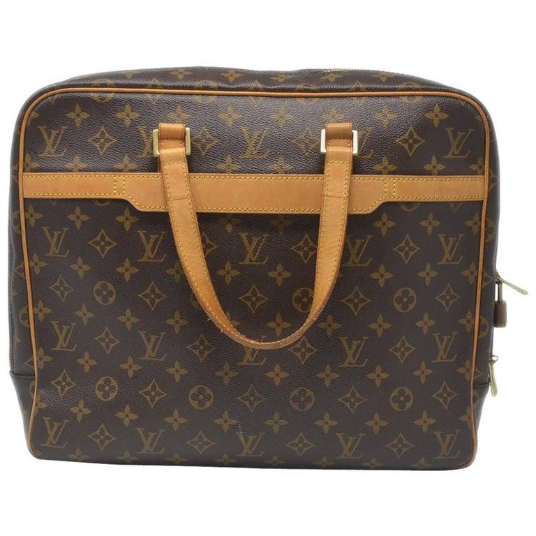 4e5ffbb5a1a4 Louis Vuitton Porte Documents Pegase Monogram Briefcase at 1stdibs