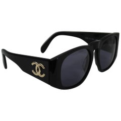 Vintage Chanel Logo Sunglasses