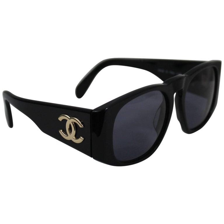 Vintage Chanel Logo Sunglasses