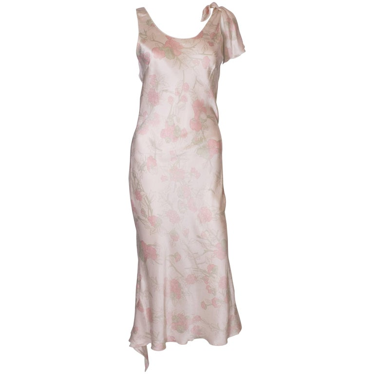 Vintage Ungaro Silk Slip Dress or Nightdress For Sale