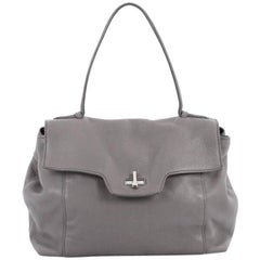 Prada Toro Top Handle Satchel Vitello Daino Large