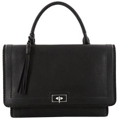 Givenchy Shark Convertible Satchel Leather Medium