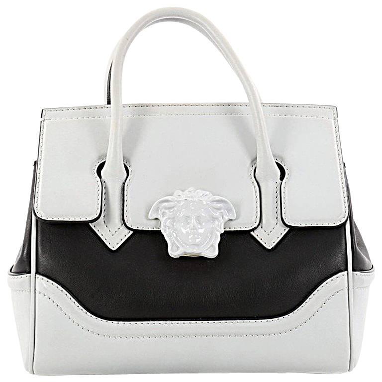 119f448acb Versace Palazzo Empire Handbag Leather Medium at 1stdibs