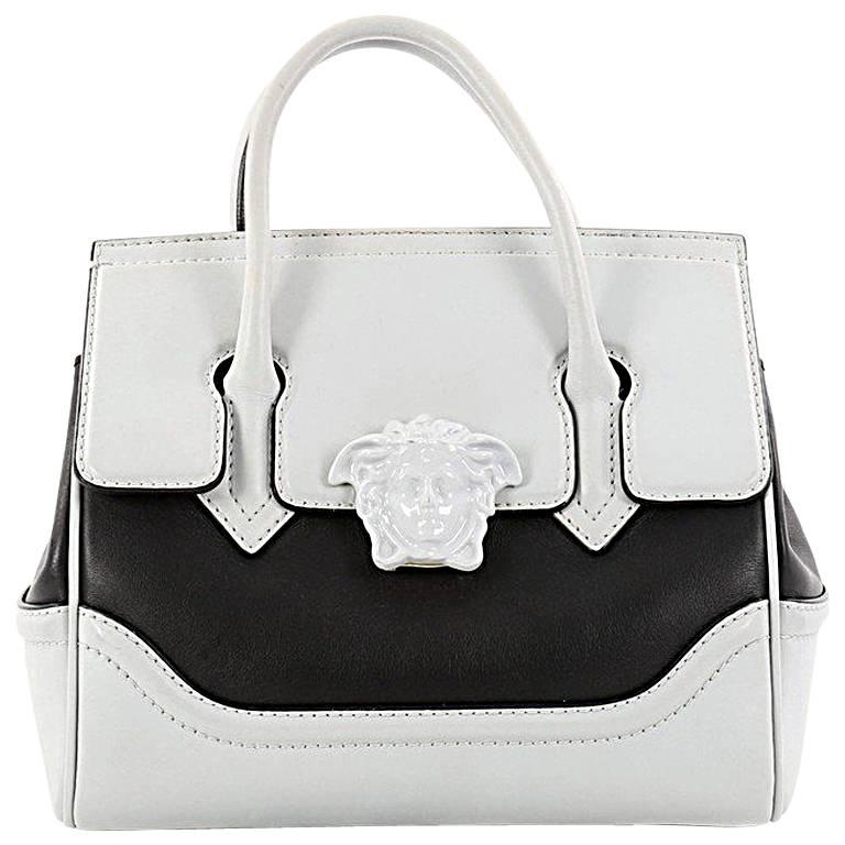 Versace Palazzo Empire Handbag Leather Medium
