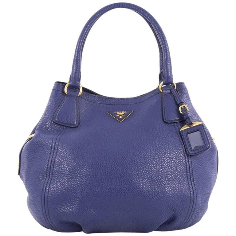Prada Convertible Satchel Vitello Daino Medium For Sale