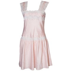 Vintage Pink Nightdress or Dress