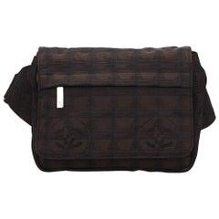 Chanel Dark Brown New Travel Line Belt Bag