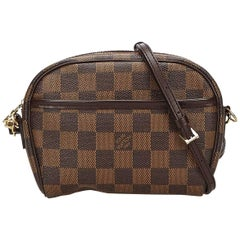 Louis Vuitton Brown Damier Ebene Ipanema Pochette