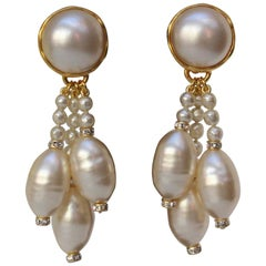 Chanel Fall Collection pearly earrings, 1994