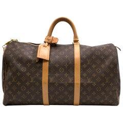 Louis Vuitton Monogram Keepall 45 Bag