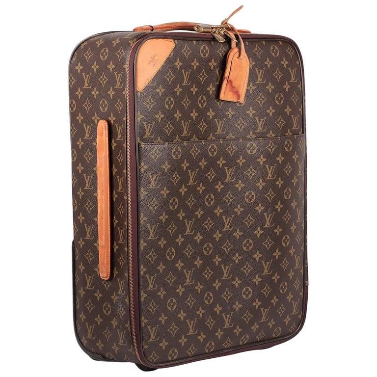 Louis Vuitton Monogram Canvas Pegase Legere 55 Rolling Suitcase