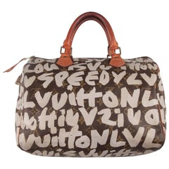 Louis Vuitton Limited Edition Stephen Sprouse Graffiti Speedy 30 Bag