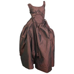 "Vivienne Westwood Copper ""Cartwheel Dress"" from Gold Label AW2011 Size US 6"