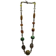 Stephen Dweck Beaded Long Necklace
