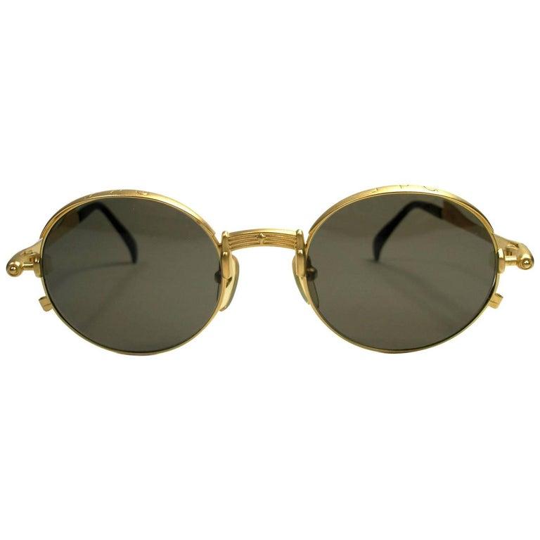 Circa 90's Jean Paul Gaultier Model 56-4175 Vintage sunglasses Collector Piéce