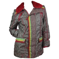 Christian Dior Rasta Ski Jacket from 2004 Size US 6