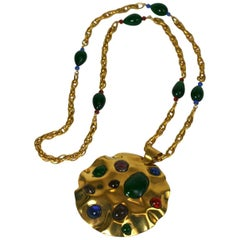 Yves Saint Laurent Haute Couture Berber Pendant Necklace