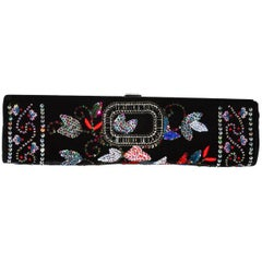 Roger Vivier Embellished Long Clutch Bag