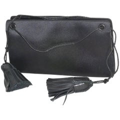 Bottega Veneta Satin Evening Bag