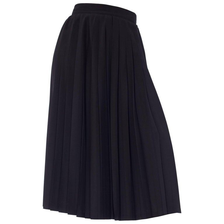 1980s Fully Pleated Trousers