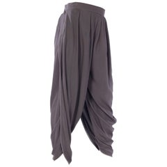 Haider Akermann Draped Legg Trousers