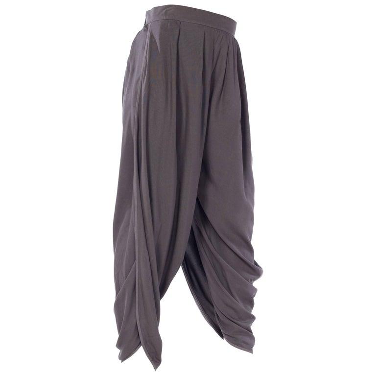 Haider Akermann Draped Legg Trousers