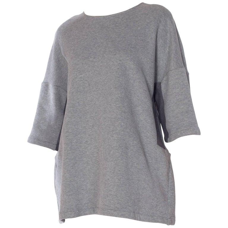 A F Vandervorst Oversized Patchwork Sweatshirt T