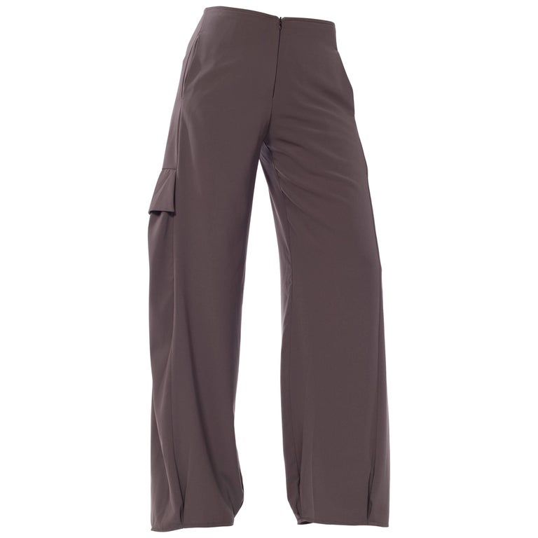 Draped Cargo Pants