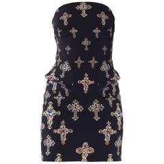 Versace Catholic Crystal Cross Dress