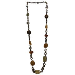 Stephen Dweck Long Beaded Necklace