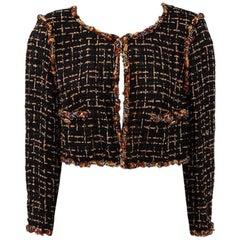 Chanel Runway Tweed Cropped Jacket, Resort 2011