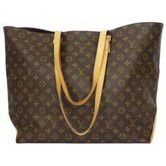 Louis Vuitton Monogram Cabas Alto shopping tote bag XL