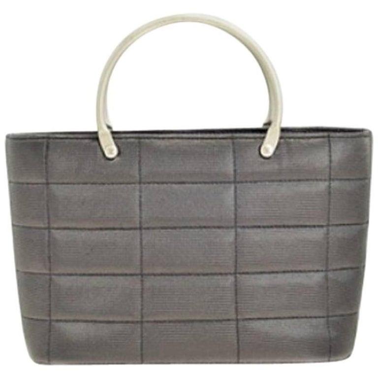 CHANEL Mini Bag in Dark Gray Lurex.
