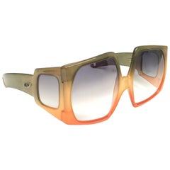 New Vintage Christian Dior Rare D01 Oversized Optyl Sunglasses